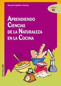APRENDIENDO CIENCIAS DE LA NATURALEZA EN LA COCINA