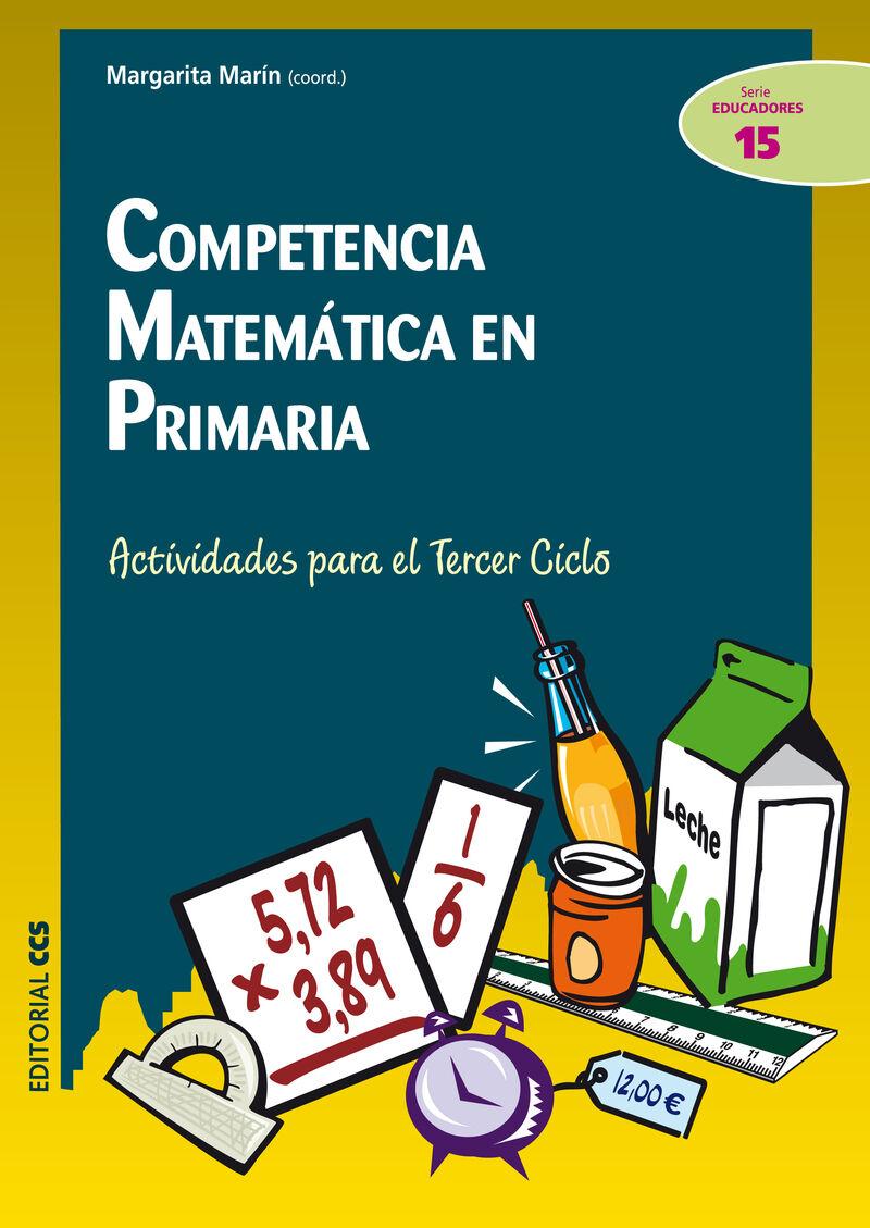 Competencia Matematica En Primaria (+cd) - Margarita Marin Rodriguez