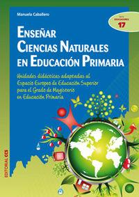 ENSEÑAR CIENCIAS NATURALES EN EDUCACION PRIMARIA