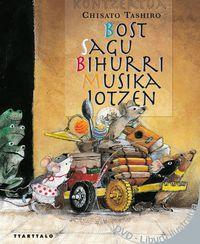 Bost Sagu Bihurri Musika Jotzen (+dvd) - Chisato Tashiro