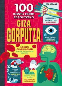 100 Kontu Ondo Ezagutzeko Giza Gorputza - Alex Frith / Federico Mariani
