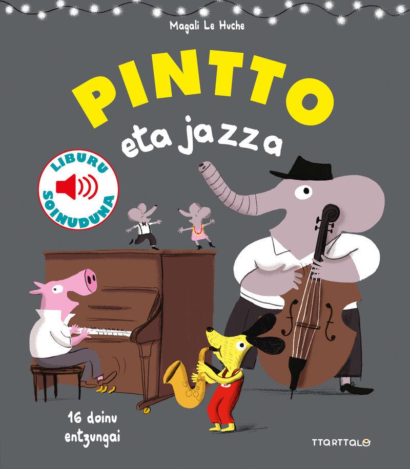 Pintto Eta Jazza - Magali Le Huche