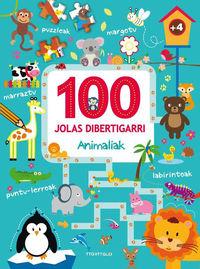 100 JOLAS DIBERTIGARRI - ANIMALIAK