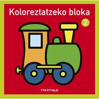 KOLOREZTATZEKO BLOKA 2 - TRENA