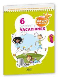 EP 6 - VERANO AVENTURA - CUADERNO DE VACACIONES