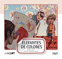 Elefante De Colores (letra Manuscrita) - Enric  Lluch  /  Jaume   Vilanova (il. )