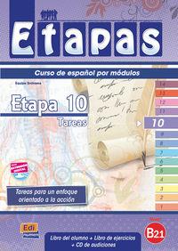 Etapas 10 (+cuad) (+cd) - Aa. Vv.