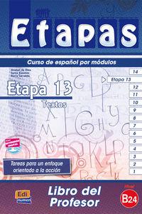 Etapas 13 Guia - Anabel De Dios