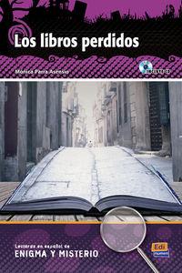 Los  libros perdidos (+cd) - Monica Parra Asensio