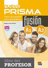 Nuevo Prisma Fusion (a1 / A2)  Guia - Aa. Vv.