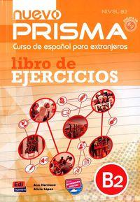 Nuevo Prisma B2 Cuad (+cd) - Aa. Vv.