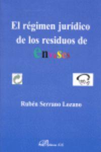 REGIMEN JURIDICO DE LOS RESIDUOS DE ENVASES, EL