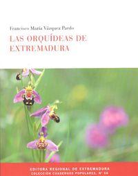 Las orquideas de extremadura - Francisco Maria Vazquez Pardo