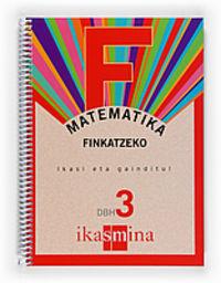 Dbh 3 - Matematika Koad. - Finkatzeko - Batzuk