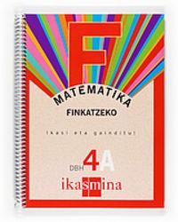 Dbh 4 - Matematika A Koad. - Finkatzeko - Batzuk