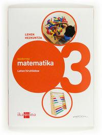 LH 3 - MATEMATIKA KOAD. 1 - KONEKTATU 2.0