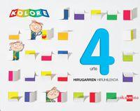 4 URTE - KOLORE 3