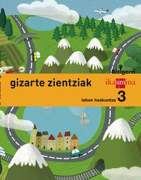 LH 3 - GIZARTE ZIENTZIAK - BIZIGARRI