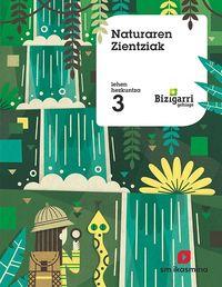 LH 3 - NATUR ZIENTZIAK - BIZIGARRI GEHIAGO
