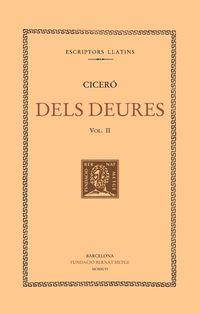 Dels Deures Ii (llibres Ii-Iii) - Ciceron