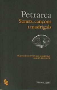 Sonets, Cançon I Madrigals - Francesco Petrarca