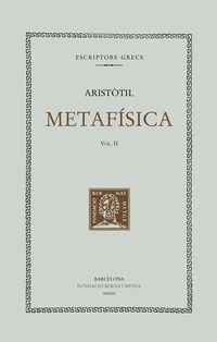 Metafisica, Vol Ii (rustica) - Aristotil