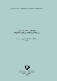 GRAMATIKA JAIETAN - PATXI GOENAGAREN OMENEZ - ASJU 51