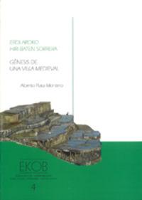 ERDI AROKO HIRI BATEN SORRERA (+CD)