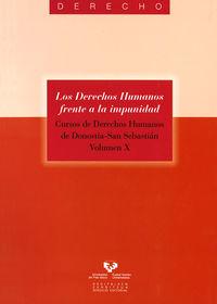 Derechos Humanos Frente A La Impunidad, Los (+dvd) - Juan Soroeta Liceras (ed. )