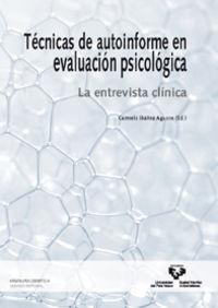 TECNICAS DE AUTOINFORME EN EVALUACION PSICOLOGICA