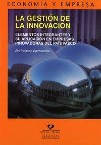 La gestion de la innovacion - Eva Velasco Balmaseda