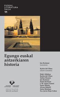 EGUNGO EUSKAL ANTZERKIAREN HISTORIA