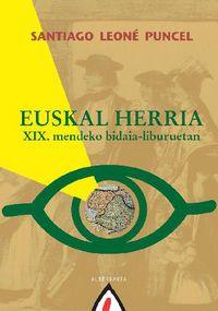 EUSKAL HERRIA - XIX. MENDEKO BIDAIA-LIBURUETAN