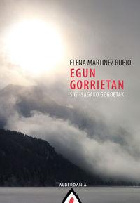 egun gorrietan - sigi-sagako gogoetak - Elena Martinez Rubio