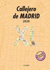 Callejero De Madrid 2020 Xl - Aa. Vv.