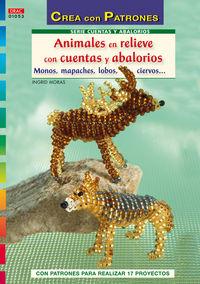 Animales En Relieve Con Cuentas Y Abalorios - Ingrid Moras