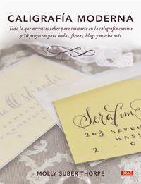 caligrafia moderna - Molly Suber Thorpe