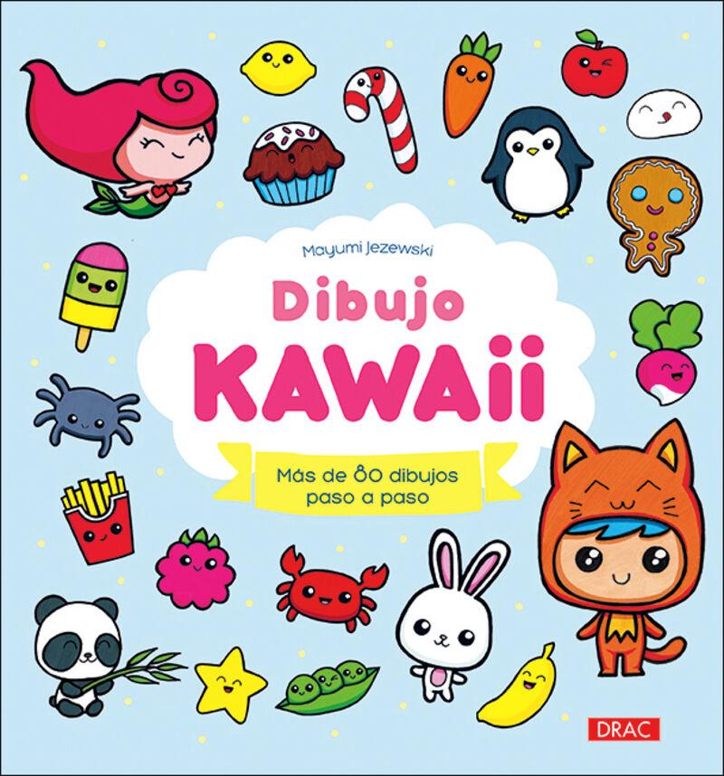 DIBUJO KAWAII - MAS DE 80 DIBUJOS PASO A PASO