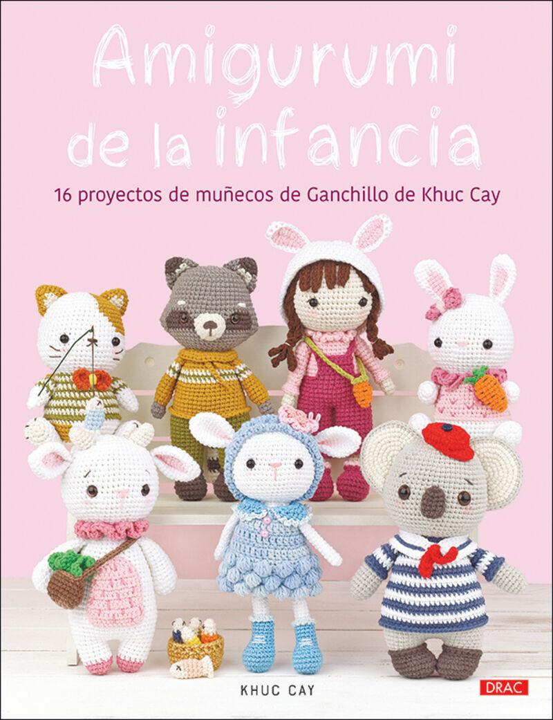 AMIGURUMI DE LA INFANCIA - 16 PROYECTOS DE GANCHILLO DE KHUC CAY
