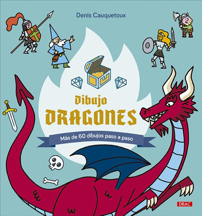 DIBUJO DRAGONES - MAS DE 60 DIBUJOS PASO A PASO