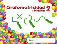 3 AÑOS - GRAFOMOTRICIDAD - TRAZOS Y TRAZOS 2