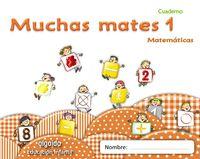 Muchas Mates Cuad. 1 - Aa. Vv.