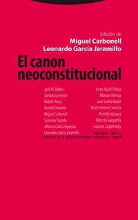 CANON NEOCONSTITUCIONAL, EL
