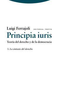 PRINCIPIA IURIS 3 - LA SINTAXIS DEL DERECHO