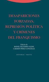 Desapariciones Forzadas, Represion Politica Y Crimenes Del Franquismo - Rafael Escudero Alday / Carmen Perez Gonzalez