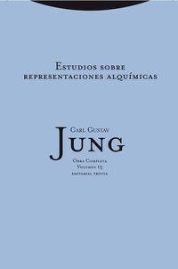 (tela) o. c. jung 13 - estudio sobre representaciones alquimicas - Carl Gustav Jung