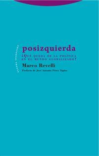 Posizquierda - ¿que Queda De La Politica En El Mundo Globalizado? - Marco Revelli