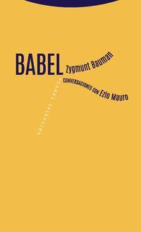 Babel - Zygmunt Bauman