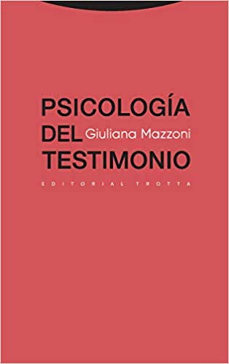 (11 ED) PSICOLOGIA DEL TESTIMONIO