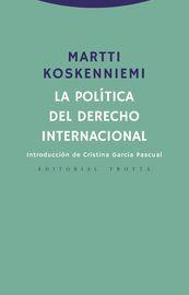 POLITICA DEL DERECHO INTERNACIONAL, LA